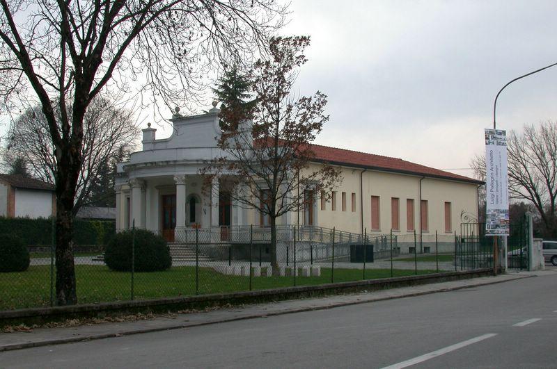La Biblioteca di San Giorgio della Richinvelda, sede della mostra