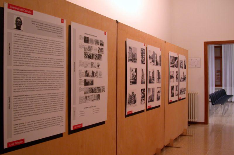 le opere e i progetti di Pellegrin