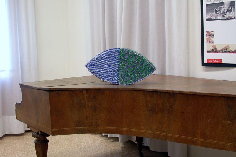 Forma plastica, omaggio a Luigi Pellegrin della Scuola di Mosaico di Spilimbergo - artista Giulio Candussio