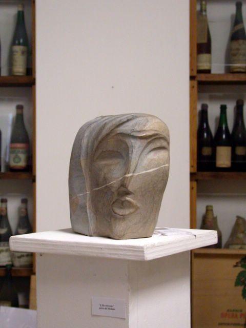 Una scultura di Norma Antonini a Castelcosa